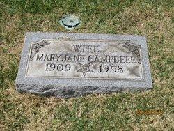 Mary Jane <I>Wilson</I> Campbell