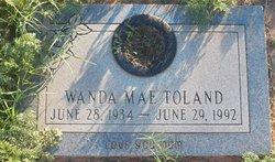 Wanda Mae <I>Hollis</I> Toland