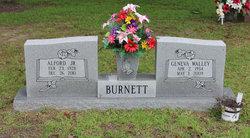 Geneva <I>Walley</I> Burnett