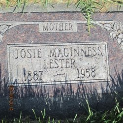 Sarah Josephine <I>Maginness</I> Lester
