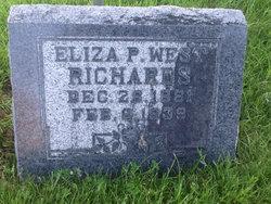 Eliza P <I>West</I> Richards