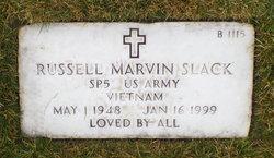 Russell Marvin Slack