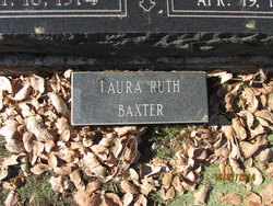 Laura Ruth Baxter