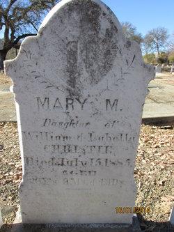 Mary M Christie