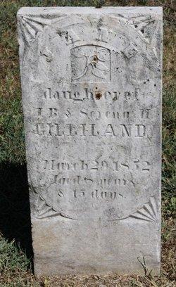 Jane Gilliland