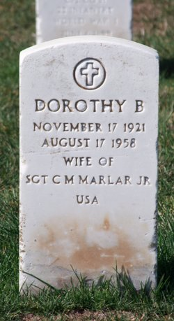 Dorothy Catherine <I>Byrne</I> Marlar