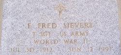 """Elmer Frederick """"Fred"""" Sievert"""