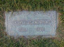 Sylvia Mary <I>Newton</I> Church