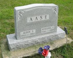Minerva Carolyn <I>Foss</I> Aase