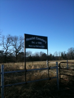 Heaslet Cemetery