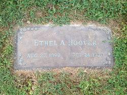 Ethel <I>Arnold</I> Hoover
