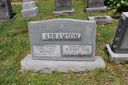 Beatrice <I>Stein</I> Abramson