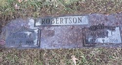 Audrey Evaline <I>Fonda</I> Robertson