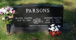 Junior Wayne Parsons