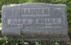 Willis E. Hadden
