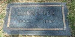 Gladys I <I>Dietrich</I> Brock