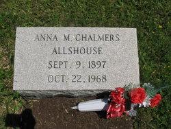 Anna M. <I>Chalmers</I> Allshouse