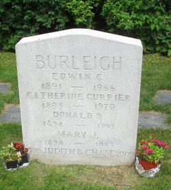 Catherine <I>Currier</I> Burleigh