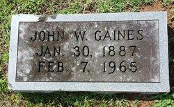 John Wesley Gaines, Jr
