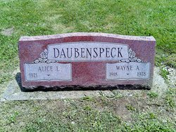Alice L <I>Reveal</I> Daubenspeck