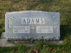 Gertrude Rose <I>McGuire</I> Adams