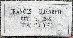 Frances Elizabeth <I>Chaffin</I> Bolt