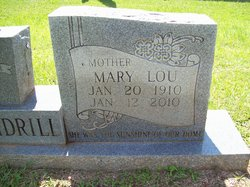 """Mary Lou """"Chick"""" <I>Scarborough</I> Daughdrill"""