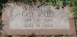 Magdalene <I>Gast</I> Ackley