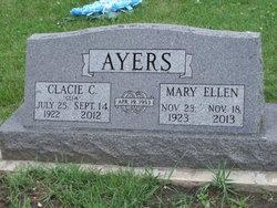 """Clacie C """"Clem"""" Ayers"""