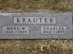 Mary Wilhelmina <I>Albers</I> Krauter