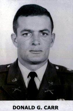 Capt Donold Gene Carr