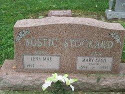 Mary Cecil <I>Davis</I> Stockard