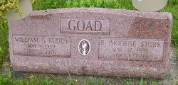 "William G ""Buddy"" Goad"