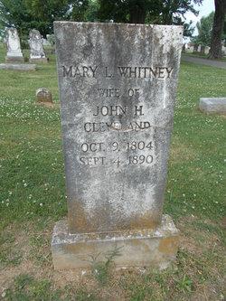 Mary Whitney Cleveland