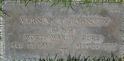 Vernon T Johnson
