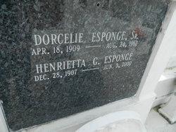 Henrietta <I>Galliano</I> Esponge