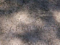 Mrs Sarah West