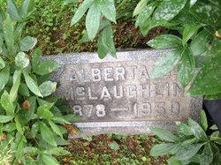 Alberta <I>Carpenter</I> McLaughlin
