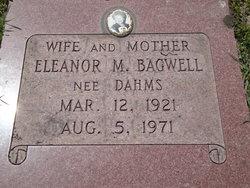 Eleanor Martha <I>Dahms</I> Bagwell