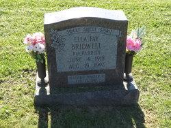 Ella Fay <I>Parrish</I> Bridwell
