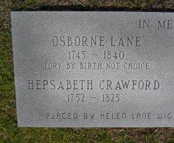 Hepsabeth <I>Crawford</I> Lane