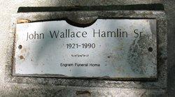 John Wallace Hamlin, Sr