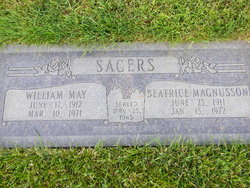 William May Sagers