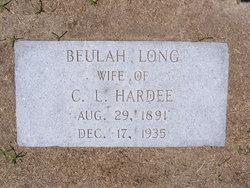 Beulah <I>Long</I> Hardee