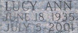 Lucy Ann <I>O'Bannon</I> Blackstone