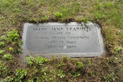Mary Jane <I>Learned</I> Goodwin