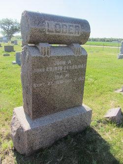 Ida May <I>Newton</I> Loder