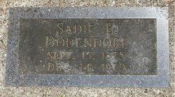 Sadie E Dodendorf