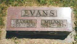 Sarah Matilda <I>Duncan</I> Evans