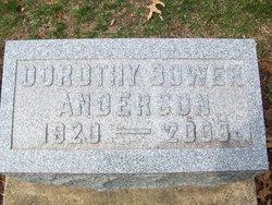 Dorothy <I>Burdsall</I> Anderson